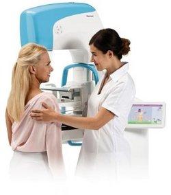 Patientenfreundliche Mammographie